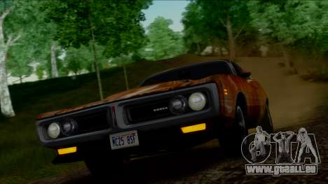Dodge Charger Super Bee 426 Hemi (WS23) 1971 IVF für GTA San Andreas obere Ansicht