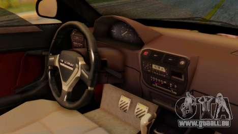 Honda Civic JnR Tuning pour GTA San Andreas vue de droite