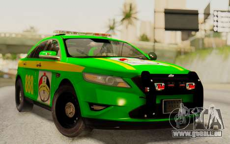 Ford Taurus Iraq Police pour GTA San Andreas