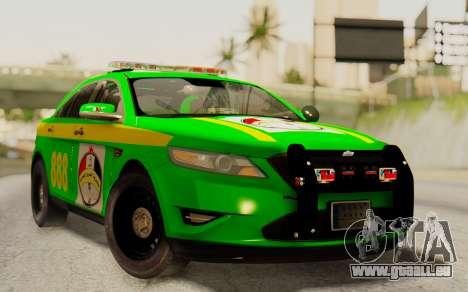 Ford Taurus Iraq Police pour GTA San Andreas