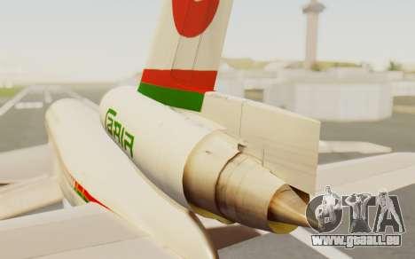 DC-10-30 Biman Bangladesh Airlines für GTA San Andreas zurück linke Ansicht