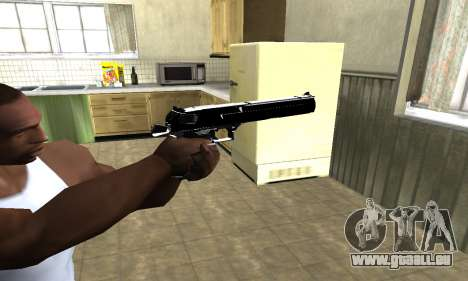 Black Cool Deagle für GTA San Andreas