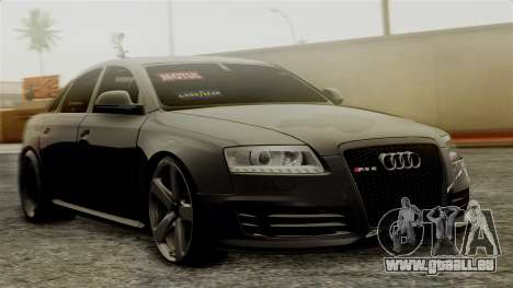 Audi RS6 Civil Drag Version für GTA San Andreas