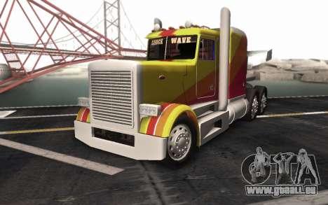 ShockWave Jet Truck pour GTA San Andreas