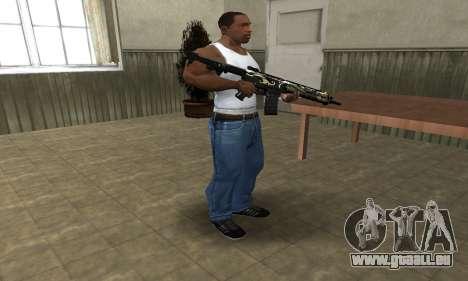 Kaymay M4 pour GTA San Andreas troisième écran