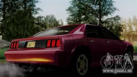 4-door Buffalo pour GTA San Andreas sur la vue arrière gauche