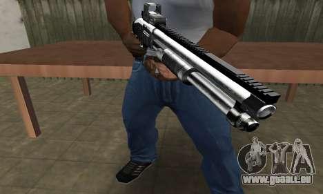 Member Shotgun pour GTA San Andreas troisième écran