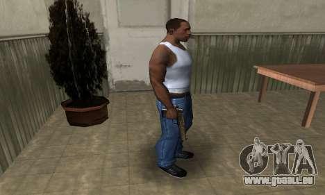 Brown Jungles Deagle für GTA San Andreas dritten Screenshot