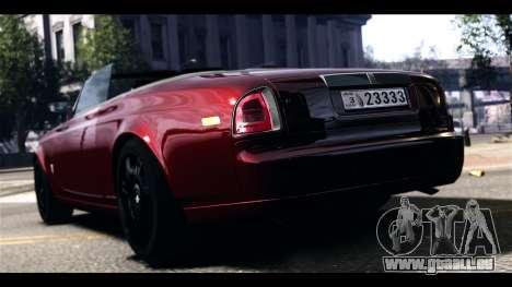 Rolls-Royce Phantom 2009 Coupe v1.0 pour GTA 4 Vue arrière de la gauche