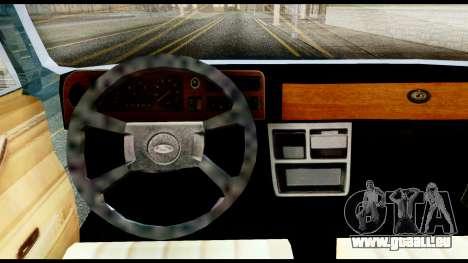 Ford Taunus 2.3 pour GTA San Andreas sur la vue arrière gauche