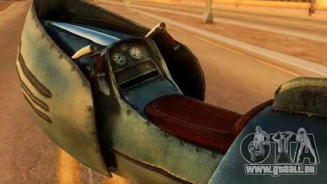 20-X Automatic pour GTA San Andreas sur la vue arrière gauche