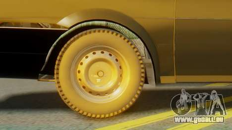 Volkswagen Santana Gz pour GTA San Andreas sur la vue arrière gauche