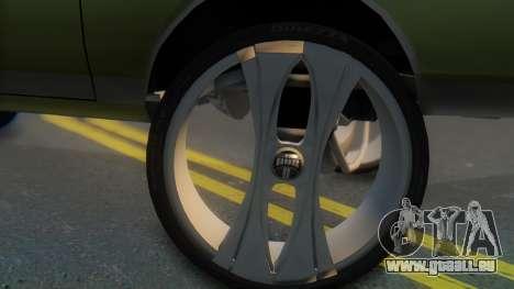 Chevrolet Caprice pour GTA San Andreas sur la vue arrière gauche