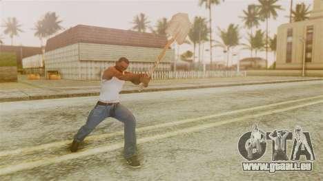Red Dead Redemption Shovel für GTA San Andreas dritten Screenshot