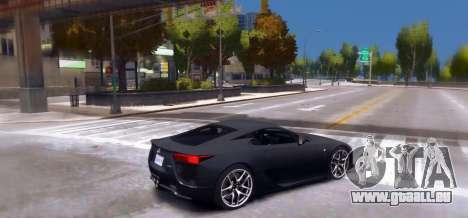 Lexus LF-A 2010 [EPM] pour GTA 4 est une gauche