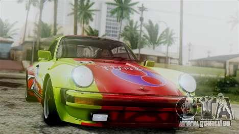 Porsche 911 Turbo (930) 1985 Kit C für GTA San Andreas Seitenansicht