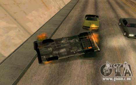 Burning car mod from GTA 4 für GTA San Andreas her Screenshot