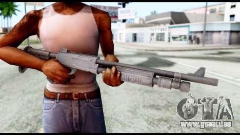 Combat Shotgun from Resident Evil 6 pour GTA San Andreas troisième écran