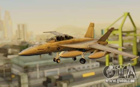FA-18F Super Hornet BF4 für GTA San Andreas
