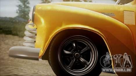Chevrolet 3100 Truck 1951 pour GTA San Andreas vue de droite