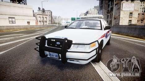 Ford Crown Victoria Bohan Police [ELS] pour GTA 4