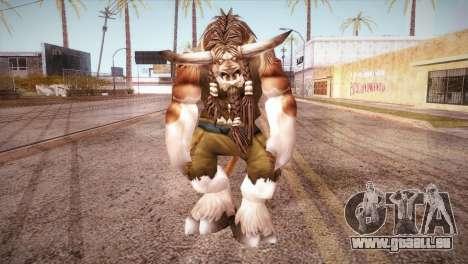 Die Tauren für GTA San Andreas zweiten Screenshot