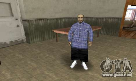 Rifa Skin Second pour GTA San Andreas
