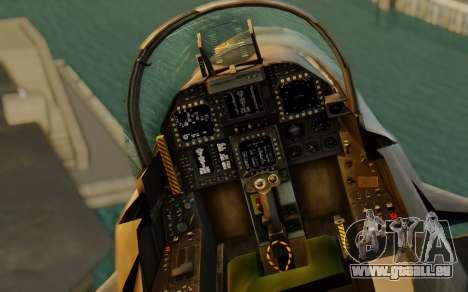 FA-18F Super Hornet BF4 für GTA San Andreas Rückansicht