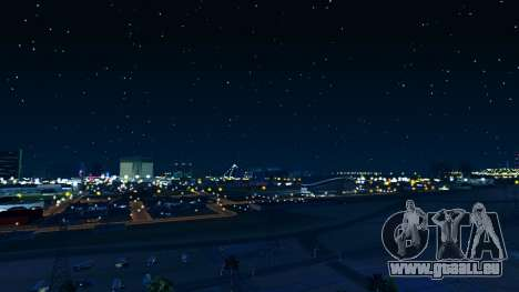 Skybox Real Stars and Clouds v2 pour GTA San Andreas troisième écran