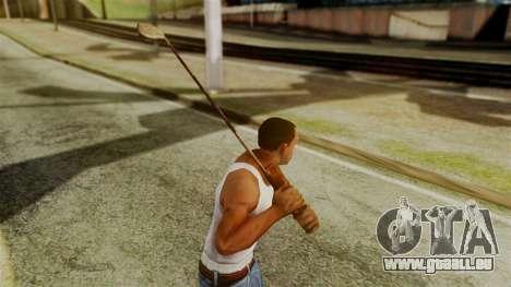Golf Club from Silent Hill Downpour für GTA San Andreas dritten Screenshot