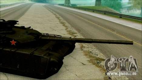 Type 99 BF4 für GTA San Andreas zurück linke Ansicht