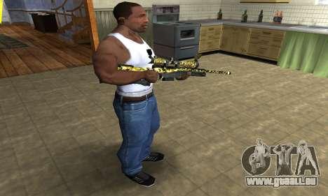 Cub Sniper Rifle für GTA San Andreas dritten Screenshot