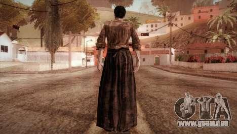 RE4 Isabel without Kerchief pour GTA San Andreas troisième écran