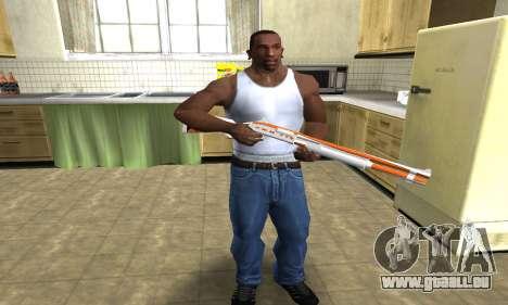 Asiimov Shotgun für GTA San Andreas dritten Screenshot
