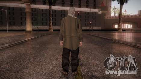 Terroristes pour GTA San Andreas troisième écran