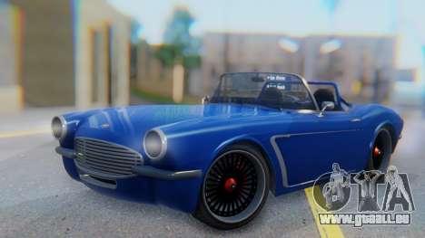 Invetero Coquette BlackFin Convertible für GTA San Andreas