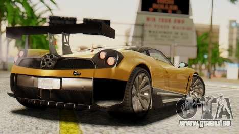 Pegassi Osyra Extra 2 pour GTA San Andreas laissé vue