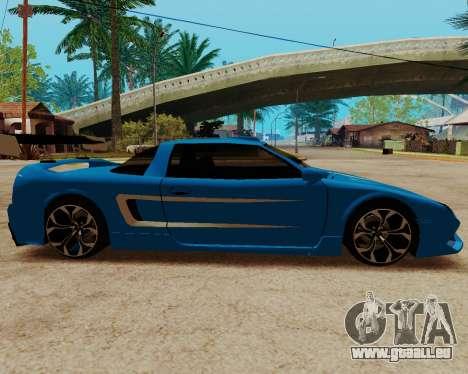 Infernus Lamborghini pour GTA San Andreas laissé vue
