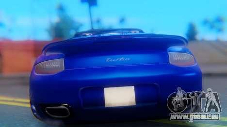 Porsche 911 2010 Cabrio pour GTA San Andreas vue intérieure