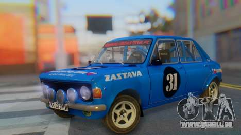 Zastava 1100P Rally pour GTA San Andreas