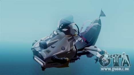 NRG Moto Jet Buzz Clean Model für GTA San Andreas rechten Ansicht