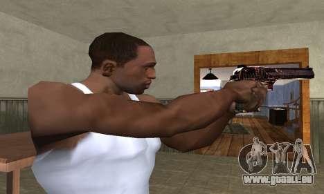 Klajk Deagle pour GTA San Andreas deuxième écran