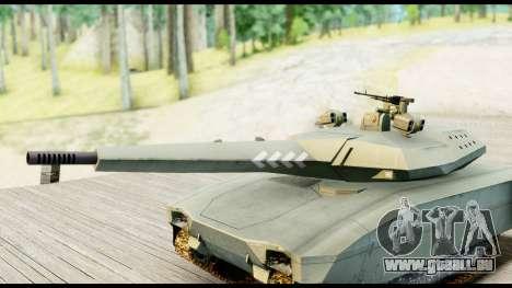 PL-01 Concept pour GTA San Andreas sur la vue arrière gauche