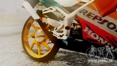 Honda NSR 150 SP für GTA San Andreas rechten Ansicht