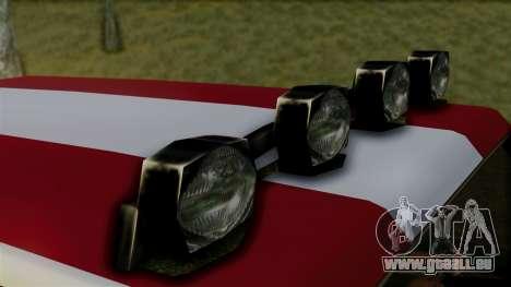 New Sandking pour GTA San Andreas vue de droite