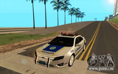 Ford Taurus Ukraine Police pour GTA San Andreas