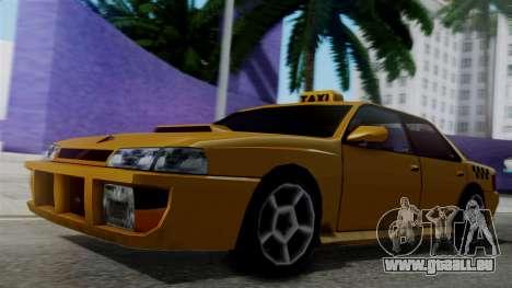 Sultan Taxi für GTA San Andreas zurück linke Ansicht