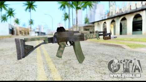 AK-47 from Resident Evil 6 pour GTA San Andreas deuxième écran