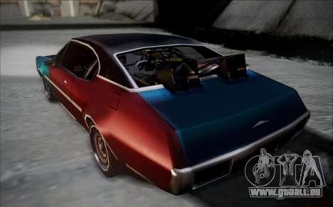 BTTF1-Clover pour GTA San Andreas laissé vue