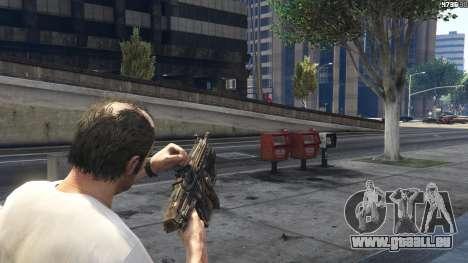 GTA 5 Gears of War Lancer 1.0.0 Siebter Screenshot
